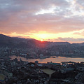 Photos: 長崎市の夜明け。