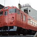 Photos: 女川駅前の温泉休憩所 駅の改札側から
