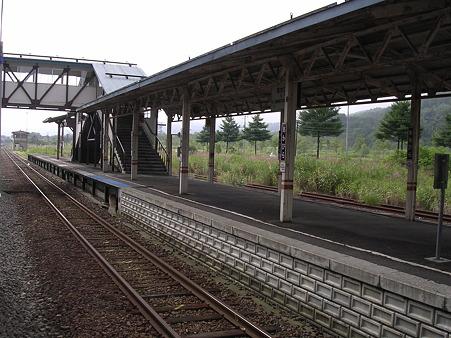 赤平駅ホーム1