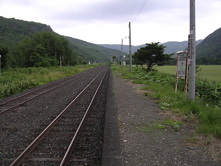 下白滝駅2