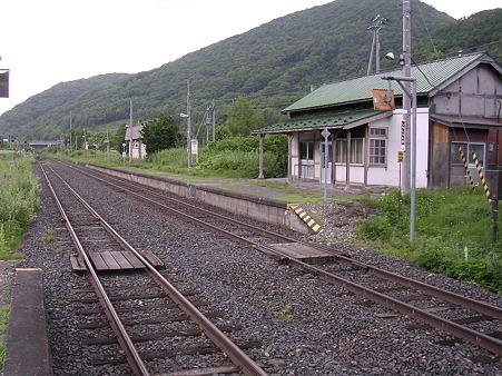 下白滝駅1