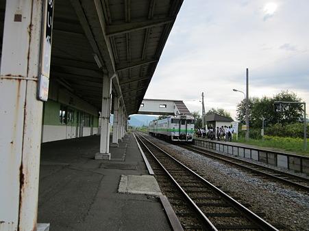 愛別駅ホーム1