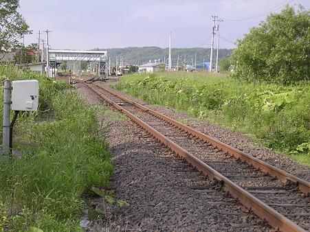 標茶駅遠景