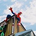 Photos: ビルの谷間の暗闇に~♪スパイダーマ~ン