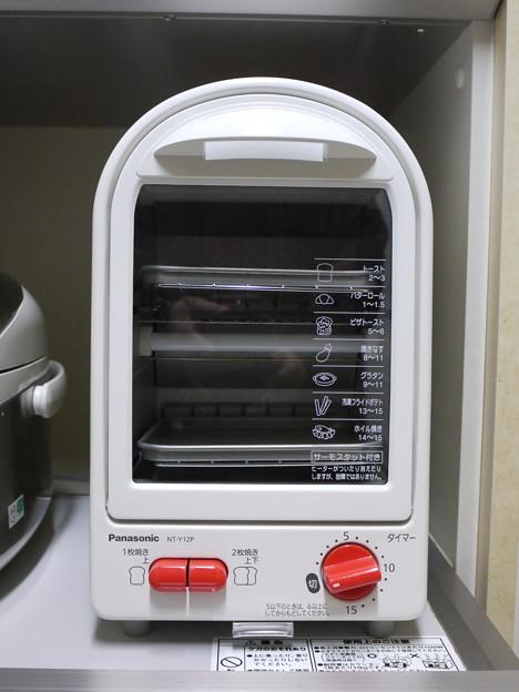 縦型のオーブントースター
