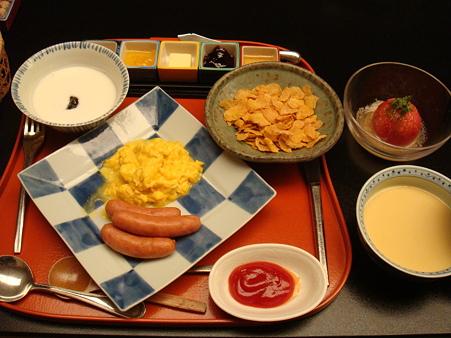 洋風の朝食@強羅花壇