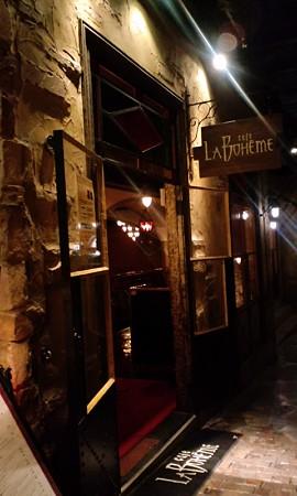 入口@Cafe La Boheme_お台場