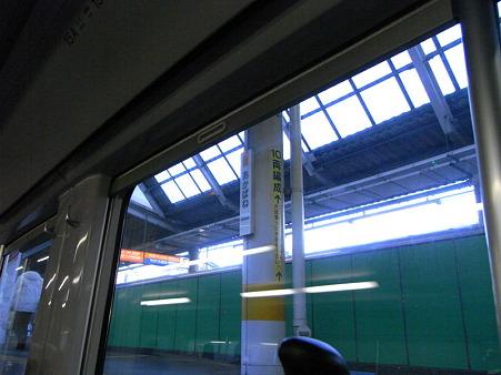 E231系湘南新宿ライングリーン車1Fの車窓31