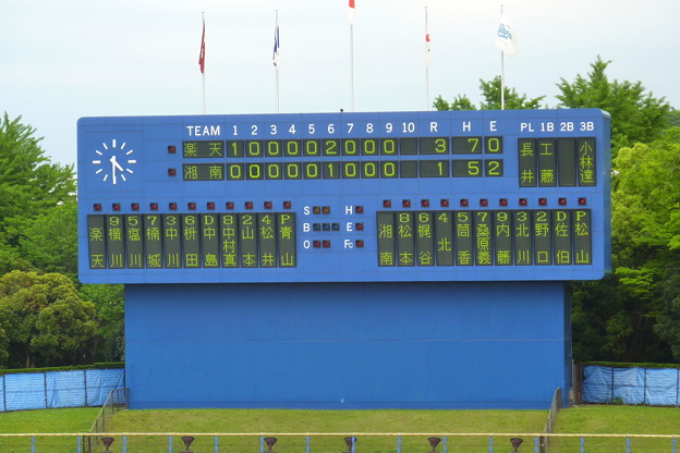 Photos: 湘南1-3楽天