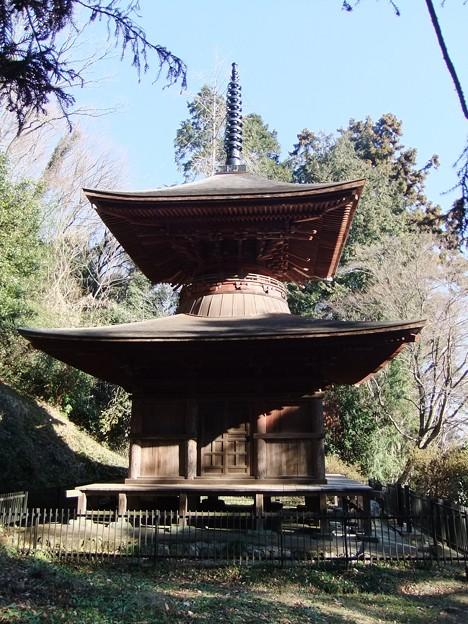 金鑚神社(かなさなじんじゃ)多宝塔