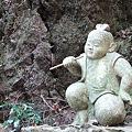 Photos: 牛若丸の石像