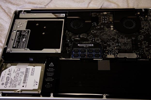 Photos: MacBookProメモリ増設作戦01