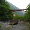 春木川から見上げる羽衣橋