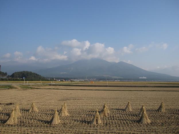 収穫を終えて・・・磐梯山