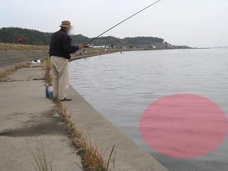 マナーが悪い釣師