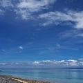 鳩間島からの眺め