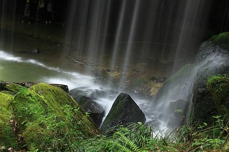 鍋ヶ滝 裏見の滝