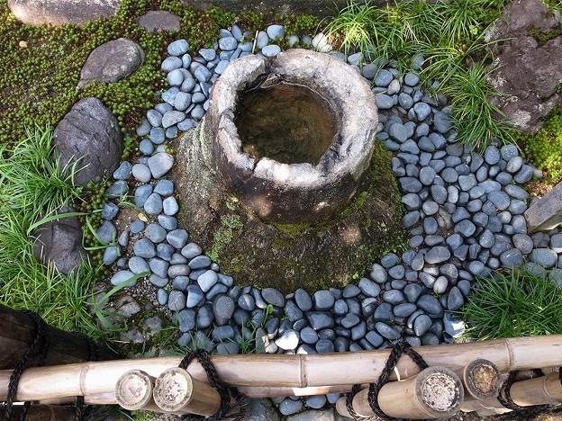 Photos: 竹根石手水鉢