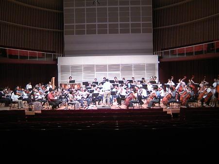 長岡交響楽団第51回定期演奏会リハーサル風景
