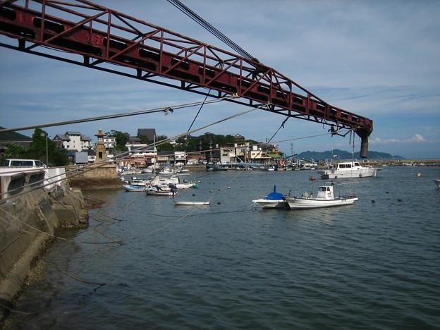 写真: 漁協桟橋から02