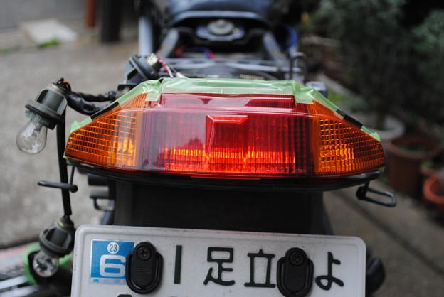 LEDスモール点灯