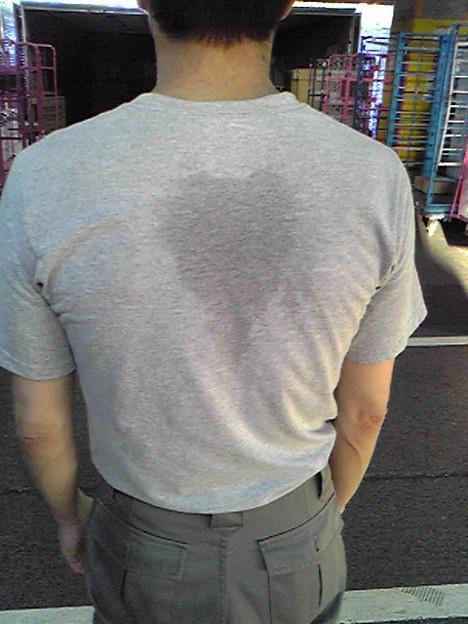 スーツの背中のしわの取り方・糸のとり方・スリットの意味