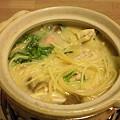 写真: 自宅カルボナーラ鍋(お一人...