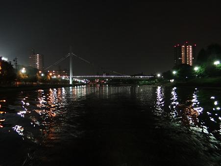 名古屋:堀川の夜景
