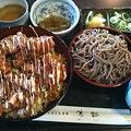 Photos: 味彩 鶏唐揚げ丼セット