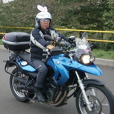 うさみみバイク