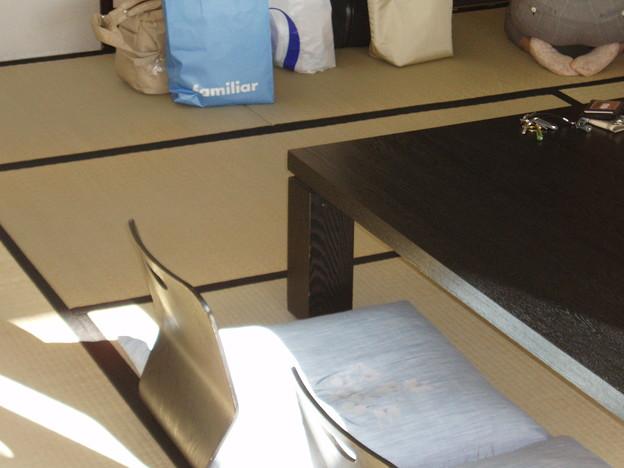和室の座卓と座椅子@LaLa GOTENBA