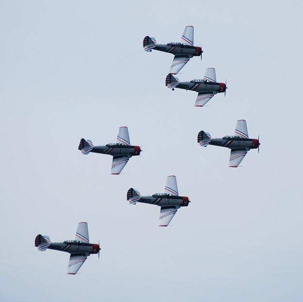 SNJ-2 Texan Skytypers