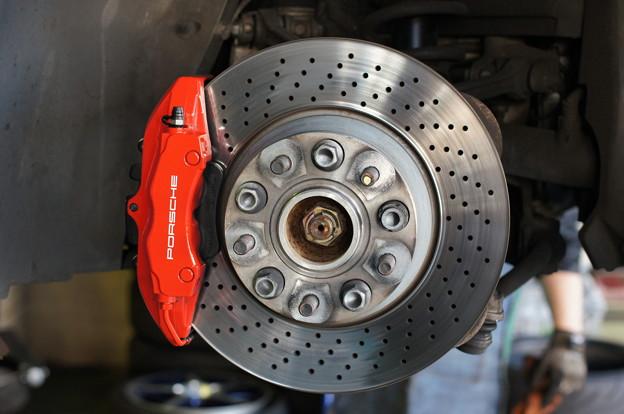Brake Caliper & Rotor