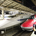 写真: E6、東京駅へ
