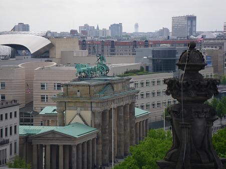 ブランデンブルクを上から眺める