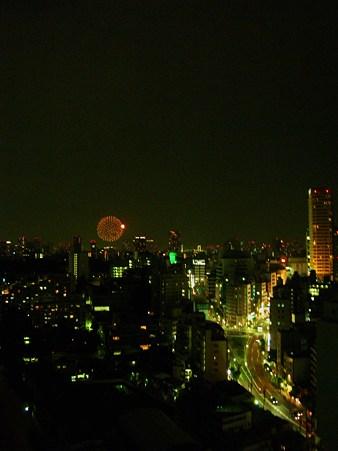 東京の地上と空の星たち