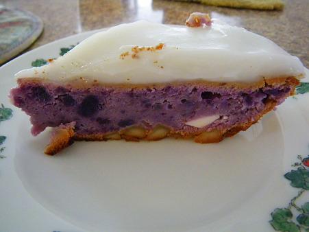 ハウピアスイートポテトチーズケーキ