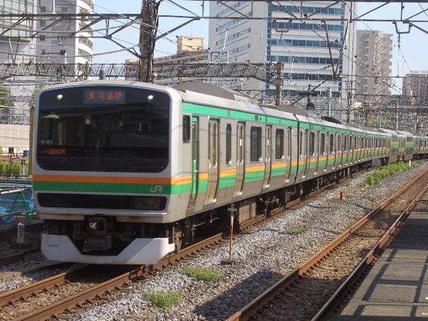 東海道本線 普通東京行 CIMG4518