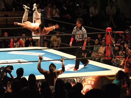 新日本プロレス BEST OF THE SUPER Jr.XIX Aブロック公式戦 プリンス・デヴィットvsKUSHIDA (7)