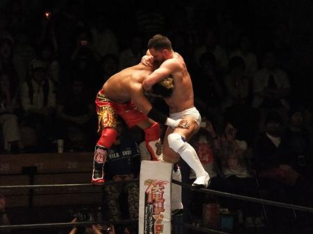 新日本プロレス BEST OF THE SUPER Jr.XIX Aブロック公式戦 プリンス・デヴィットvsKUSHIDA (12)