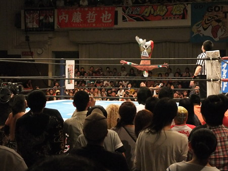 新日本プロレス BEST OF THE SUPER Jr.XIX 佐々木大輔&アンヘル・デ・オロvs邪道&外道 (2)