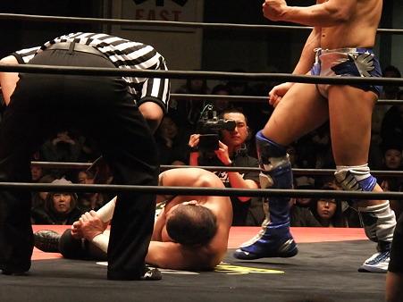 DDTプロレス 後楽園ホール 20110327 (1)
