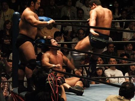 全日本プロレス 後楽園ホール 20110712 (28)