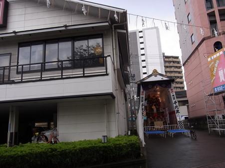 32 博多祇園山笠 千代流 舁き山 場所 2012年 写真画像