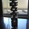 写真: ジェンガの塔