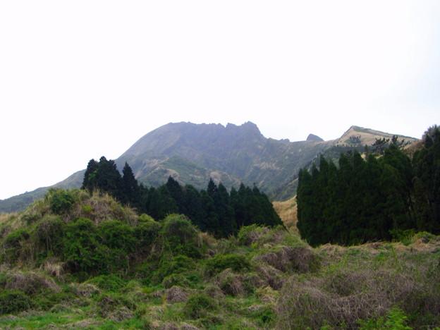 この角度の根子岳は見ごたえがいまいち