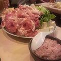 Photos: 鶏ももスープ鍋(具材)