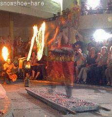 火渡りの儀式