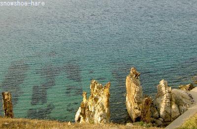 波がない時のタバルカ・針岩