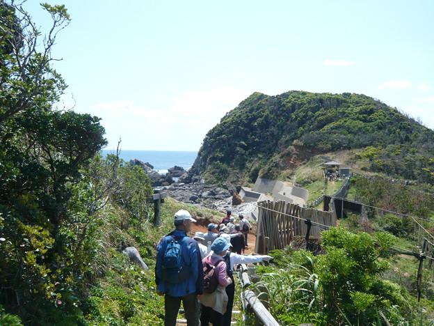 P1210215不動岩(カルスト地形)へ